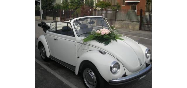 White romantic Maggiolone